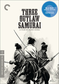 Criterion Collection Three Outlaw Samurai Blu ray