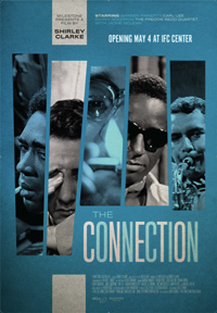 The Connection Shirley Clarke Poster