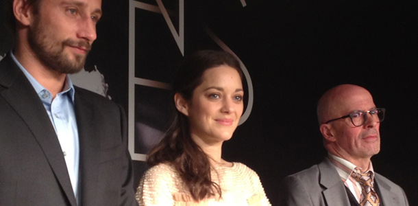 Rust & Bone Cannes Press Conference