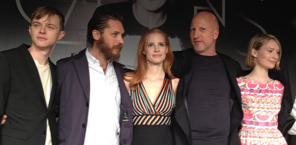 Lawless Cannes Chastain Tom Hardy John Hillcoat