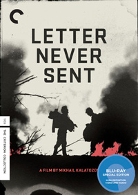 Criterion Collection: Letter Never Sent Cover Box