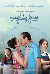 Debbie Goodstein Mighty Fine Poster
