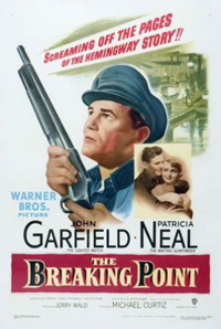 The Breaking Point Michael Curtiz Poster