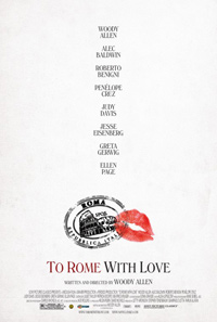 To Rome with Love Woody Poster