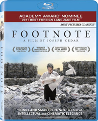 Footnote Blu-ray cover