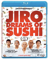 Jiro Dreams of Sushi Blu-ray cover