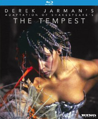The Tempest Derek Jarman blu-ray cover