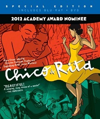 Chico & Rita Blu-ray cover
