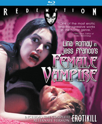 Female Vampire Blu-ray