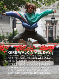 Girl Walk // All Day Poster Jacob Krupnick