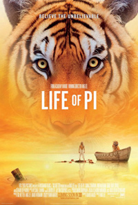 Life of Pi Ang Lee Poster