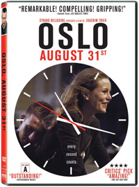 Oslo August 31st Joachim Trier DVD Cover