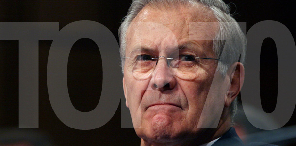 Errol Morris' The Unknown Known: The Life and Times of Donald Rumsfeld
