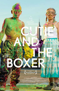 Zachary Heinzerling Cutie and the Boxer Sundance Poster