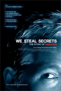 We Steal Secrets: The Story of Wikileaks poster