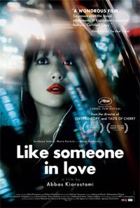Abbas Kiarostami Like Someone in Love Poster