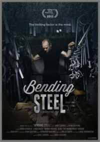 Bending Steel Dave Carroll Poster