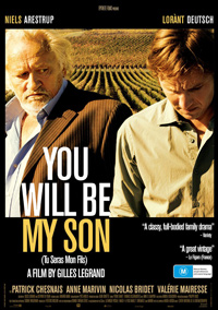 Gilles Legrand You Will Be My Son Poster