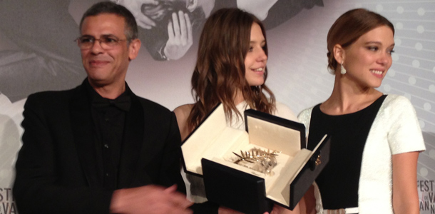 2013 Cannes Award Winners in Pictures: Triple Love for Kechiche, Exarchopoulos and Seydoux