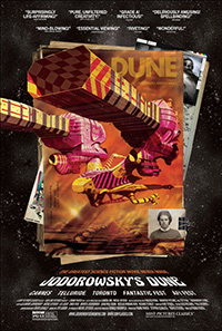Jodorowsky's Dune Frank Pavich Poster