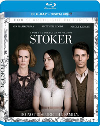 Park Chan-wook Stoker blu-ray cover