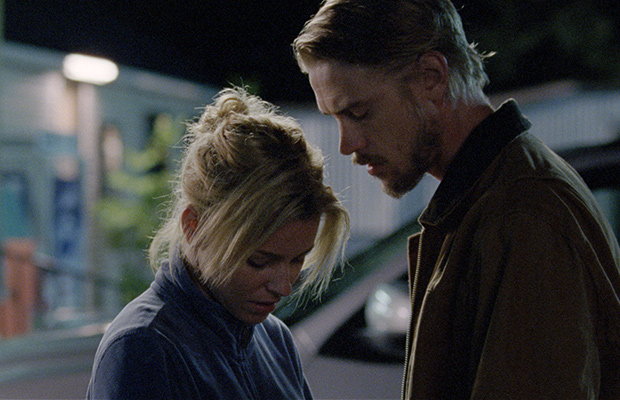 Elizabeth Banks and Boyd Holbrook Sara Colangelo Little Accidents