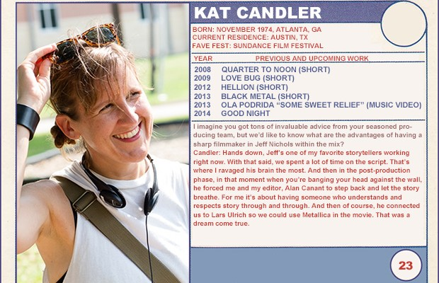"2014 Sundance ""Trading Cards"" Series: #23. Kat Candler (Hellion)"