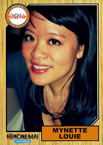 "2014 Sundance ""Trading Cards"" Series: #24. Mynette Louie (Land Ho!)"