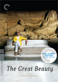 The Great Beauty Paolo Sorrentino Blu-ray