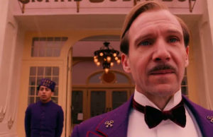 The Grand Budapest Hotel Wes Anderson Blu-ray