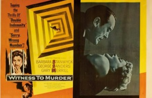 Roy Rowland Witness to Murder Review