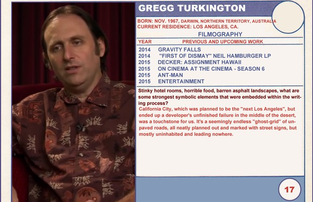 Gregg Turkington Entertainment Sundance Trading Card Series