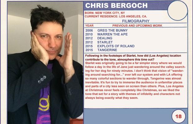 Chris Bergoch (Tangerine) 2015 Sundance Trading Card Series