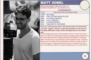Matt Sobel Trading Cards