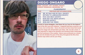 Diego Ongaro (Bob and the Trees)