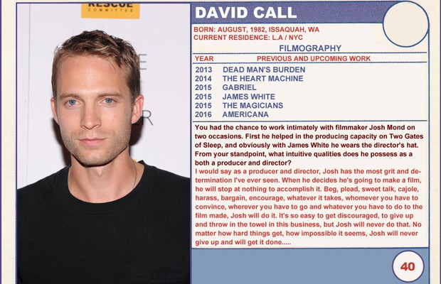 david call dating