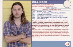 2015 Sundance Trading Card Series: #46. Bill Ross (Western)