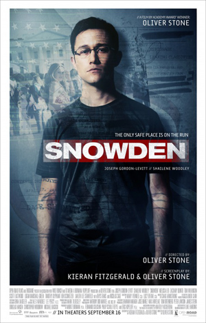 SNOWDEN Oliver Stone Poster