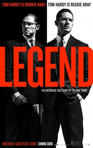 Brian Helgeland Legend Poster