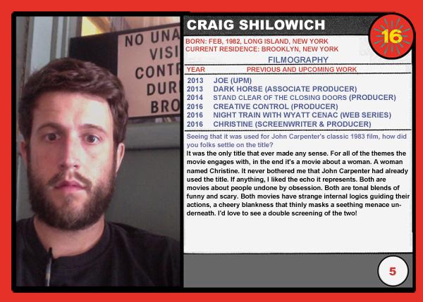 Craig Shilowich Christine