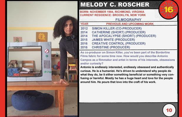Melody C. Roscher (Christine)
