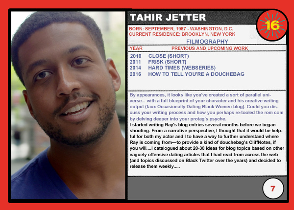 Tahir Jetter (How To Tell You're A Douchebag)
