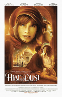 Heat and Dust James Ivory Poster