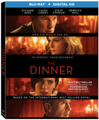 The Dinner Oren Moverman Blu-ray Cover