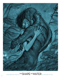 Guillermo Del Toro The Shape of Water Poster
