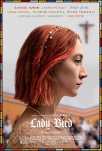 Greta Gerwig Lady Bird Poster