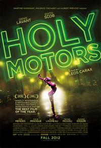 Leos Carax's Holy Motors Poster