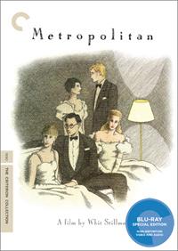 Metropolitan Criterion Whit Stillman Blu-ray