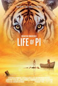 Life of Pi Ang Lee Poster