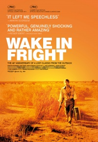 Ted Kotcheff Wake in Fright Poster
